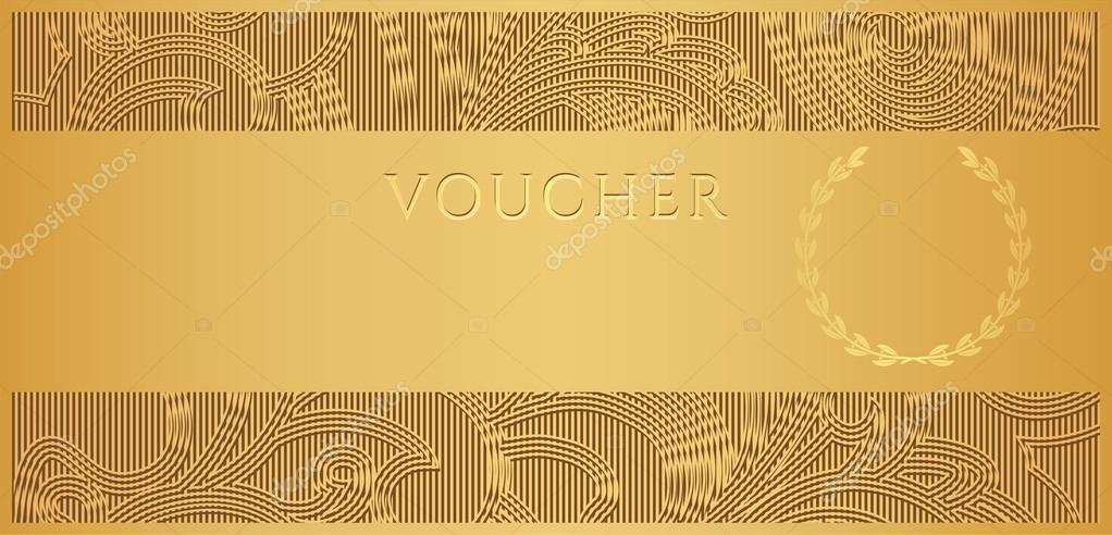 Voucher Certificate Template
