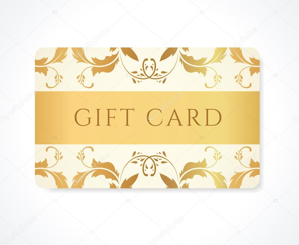Gift card gift coupon discount card business card for Gift card for business