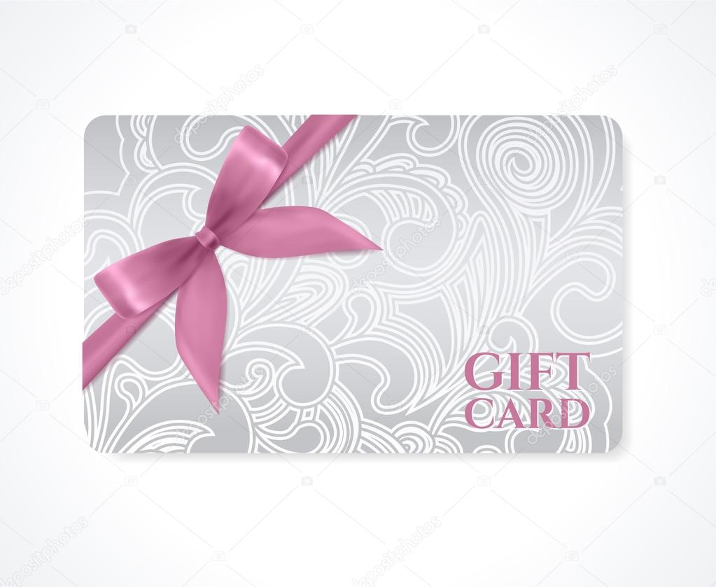 gift coupon gift coupon gift card discount card business card floral ...