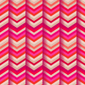 Fashion zigzag pattern in retro colors, seamless vector — Stock Vector