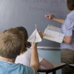 School children in the classroom — Stock Photo