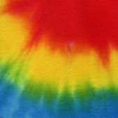 High resolution handmade tie dye fabric for texture and background — Foto Stock