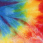 High resolution handmade tie dye fabric for texture and background — 图库照片