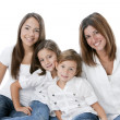 Image of mother and daughters — Stock Photo