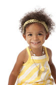 Smiling toddler girl — Stock Photo
