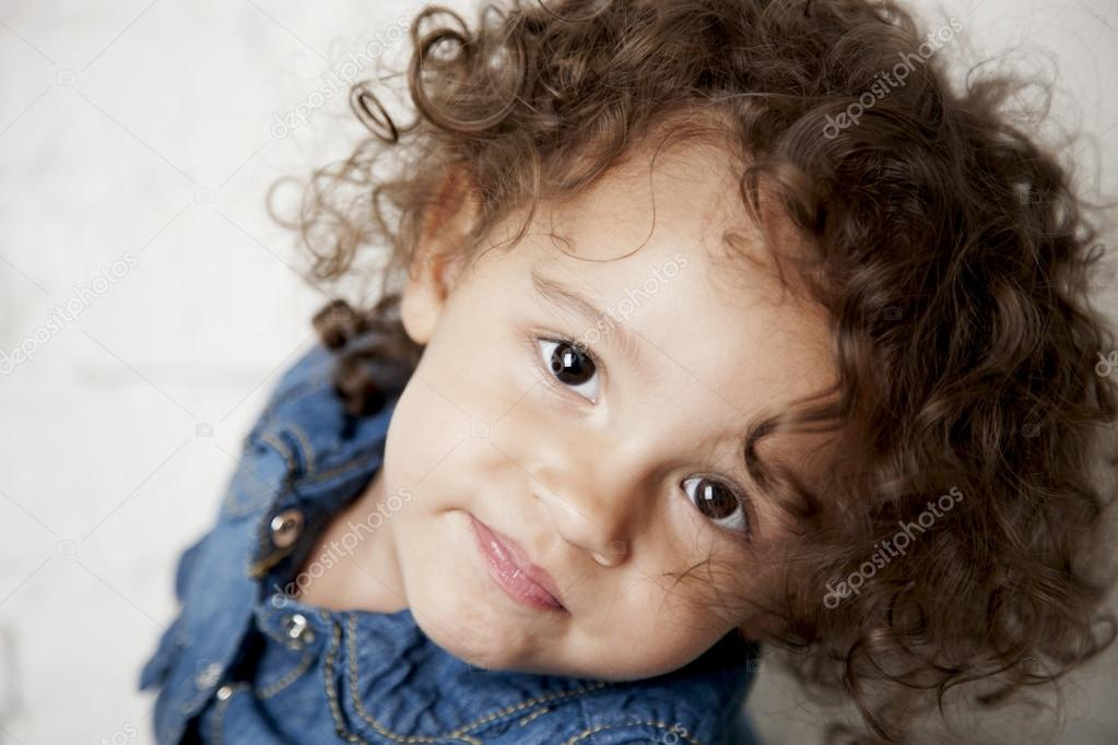 Smiling Mixed Race Toddler Girl Stock Photo 169 Jbryson