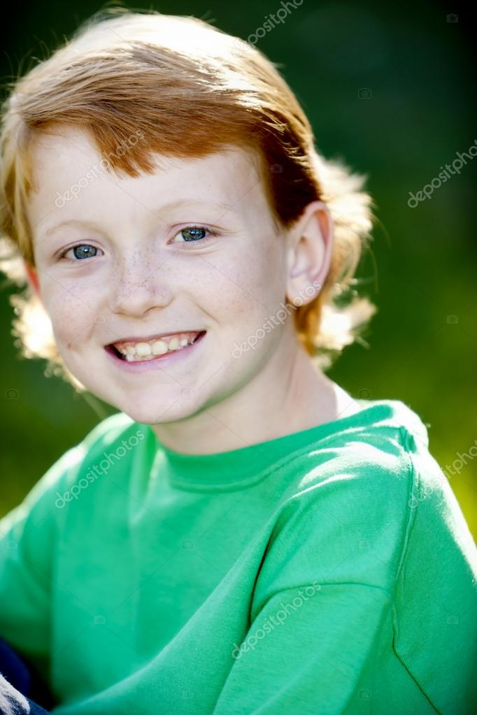 Little Boy With Red Hair And Blue Eyes Red Hair And Blue Eyes