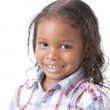 Image of mixed race smiling little girl — Stock Photo