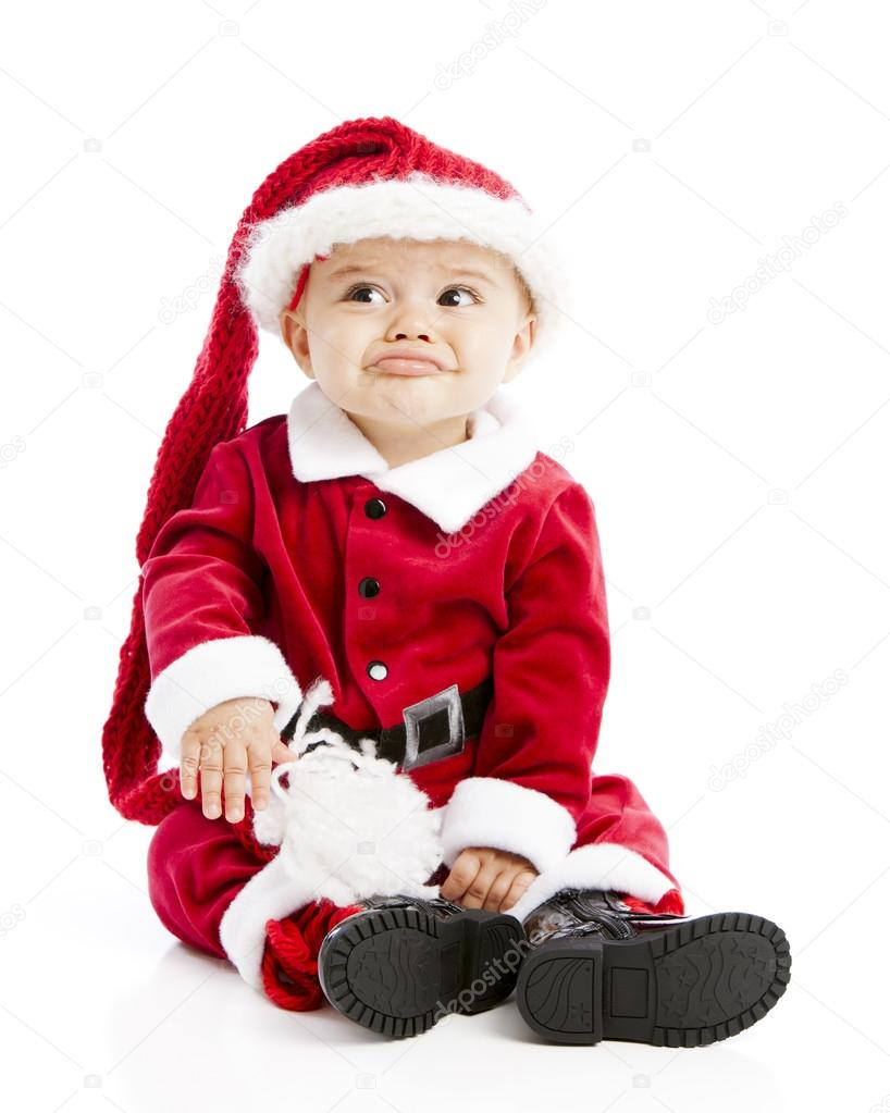 Cute hispanic baby boy...