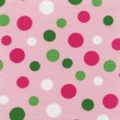 A high resolution bright polka dots — Stock Photo