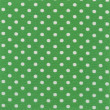 Royalty-Free Stock Photo: High resolution green fabric with white polka dots