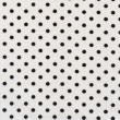 Royalty-Free Stock Photo: A high resolution white fabric with green polka dots