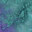 A high resolution purple and turquoise batik style - Stock Photo