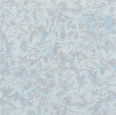 A high resolution light blue fabric with a subtle floral pattern. — Stock Photo