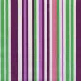 Tkaniny o wysokiej rozdzielczości biały z wielu kolorowe pionowe paski — Zdjęcie stockowe