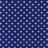 A high resolution blue fabric with white polka dots — Stock Photo