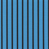 A high resolution blue fabric with black vertical stripes — Stock Photo