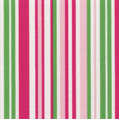 A high resolution white fabric with pink and green vertical stripes — Stock Photo