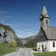Austri/ Salzkammergut / Little church in mountainside — Stock Photo #18998563