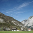 Austria / Salzkammergut / Altaussee / Panoramic Mountain View — Stock Photo