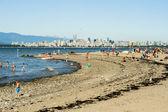 Vancouver beach — Foto de Stock