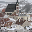 City of Cesky Krumlov — Stock Photo