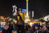 Ucrania - maidan: nacimiento de una sociedad civil 24 dec 2013 — Foto de Stock