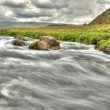 Stock Photo: River flow HDR