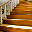 Interior design - stairs - 图库照片
