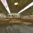 Stock Photo: Empty horse arena