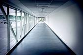 Airplaine iç koridor — Stok fotoğraf