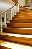 Interiérový design - schody — Stock fotografie