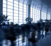 Havaalanı iç yürüyüş — Stok fotoğraf