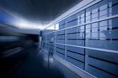 Wazig luchthaven interieur — Stockfoto
