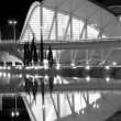 Stock Photo: City of Arts and Sciences in Valencia, Spain