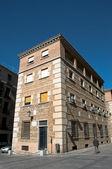 Stará architektura, toledo, španělsko — Stock fotografie