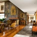 Interior design series: classic living room — Stock Photo