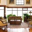 Interior design series: classic living room — Stock Photo