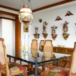 Interior design series: classic diningroom — ストック写真