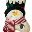 Foto Stock: Christmas boot
