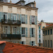 Traditional buildings from Nice, France - Photo