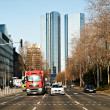 Business Center in Frankfurt, Germany - Stock Photo