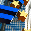 The European Central Bank (ECB), Frankfurt, Germany - Stock Photo