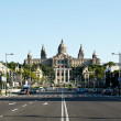 Montjuic Palace, Barcelona, Spain - Stok fotoraf