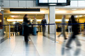 Business at airport — Stock Photo