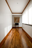 Interior design series: classic empty hallway — Stock Photo
