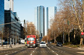 Business Center in Frankfurt, Germany — Stock Photo