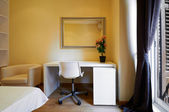 Interior Design: Empty Hotel room closeup — Zdjęcie stockowe