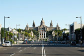 Montjuic Palace, Barcelona, Spain — Stock Photo