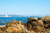 Mediterranean sea France — Stock Photo